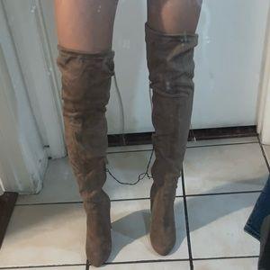 Wet Seal Thigh High Boots